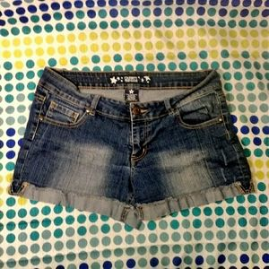 Distressed Celebrity Pink Shorts sz 11(juniors)